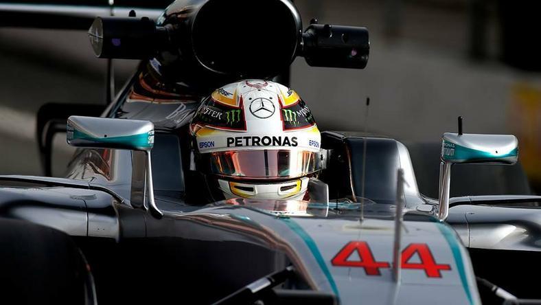 Lewis Hamilton mente a legtöbbet a tesztek alatt /Fotó: AFP