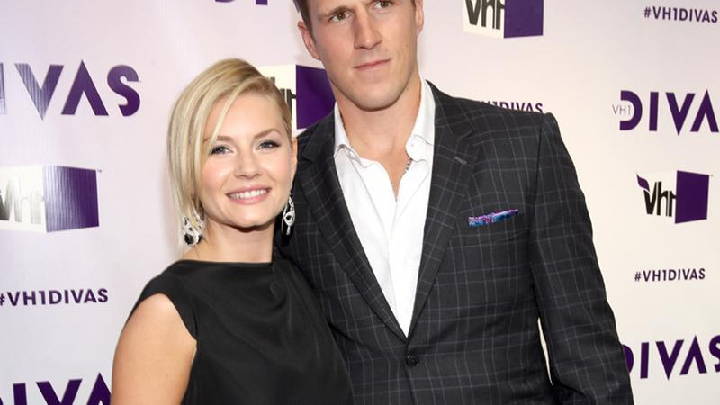 Elisha Cuthbert i Dion Phaneuf (fot. Getty Images)