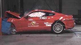 Mustang oblał test zderzeniowy Euro NCAP