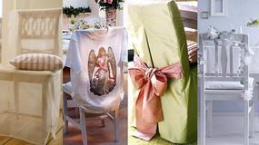 Jak ozdobić krzesła na specjalne okazje - sześć propozycji