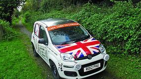 Fiat Panda pobije rekord na trasie Kapsztad-Londyn