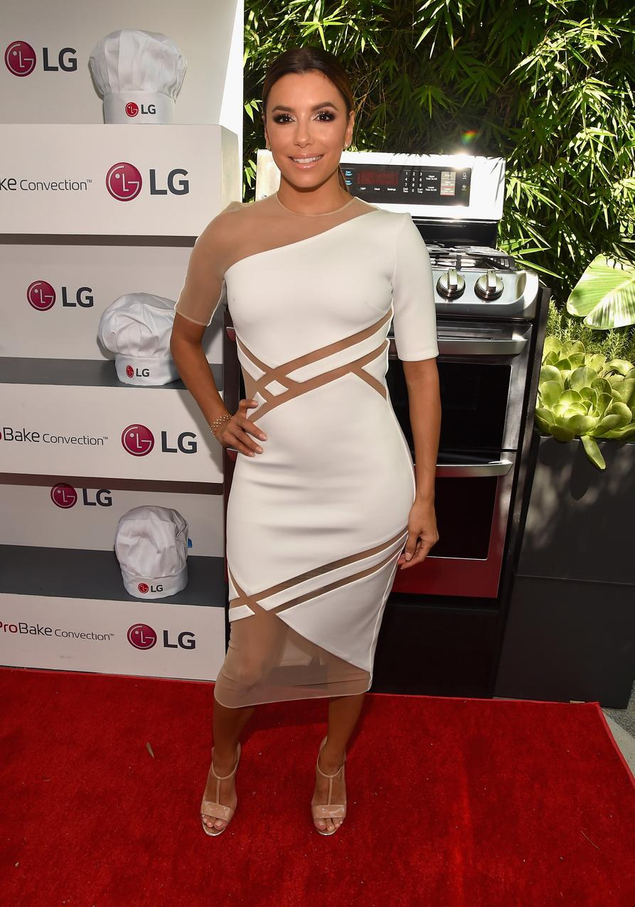 Best Look: Eva Longoria w sukience David Koma