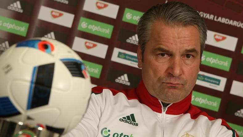 Storck hosszú távon gondolkodik, nem csak az Eb-n szereplő játékosokat teszteli /Fotó: Isza Ferenc