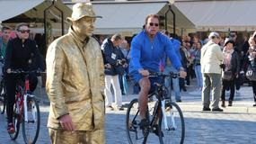 Co Arnold Schwarzenegger zrobił podczas przejażdżki po Pradze?