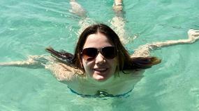 Karolina Malinowska w samym bikini na wakacjach. Widać efekty ćwiczeń z Ewą Chodakowską?
