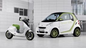 Skutery elektryczne od Smarta i Mini