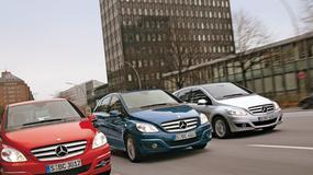 Mercedes B 170  NGT BlueEfficiency - Czy gaz wygra z benzyną i ropą?