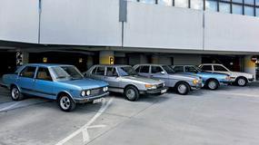 Fiat 132 kontra Mazda 929L, Mercedes 200, Peugeot 505 i Saab 900 - Czy liczy się tylko schabowy?