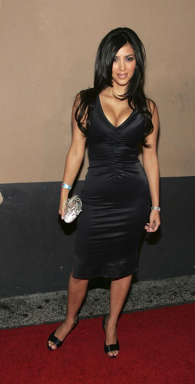 2007: Kim Kardashian / Getty Images