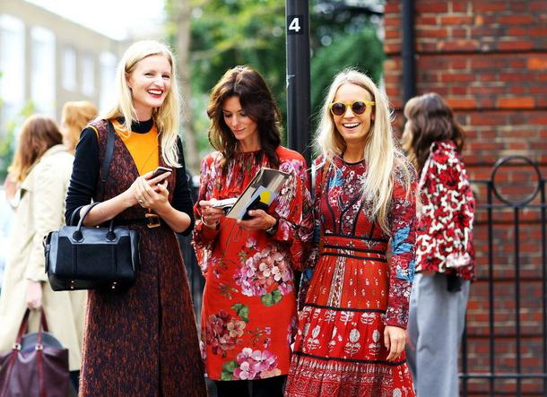 Street Style na London Fashion Week