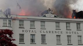 Wielka Brytania: pożar najstarszego hotelu w Anglii