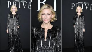 Best Look: Cate Blanchett na pokazie Armani