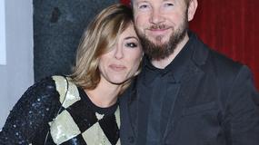 Natalia Kukulska z mężem na premierze