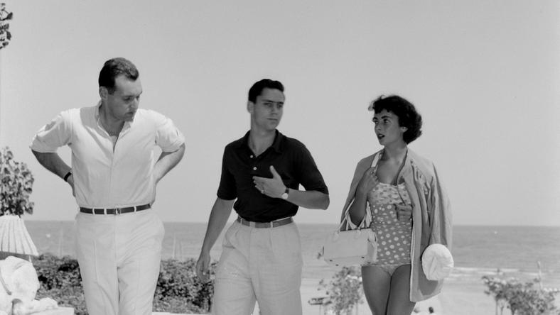 Elizabeth Taylor a vakációit szívesen töltötte a Lido Beachen /Fotó: Profimedia-Reddot