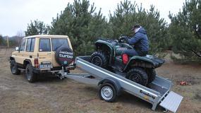 Brenderup ATV-2: przyczepa idealna do transpotu quada
