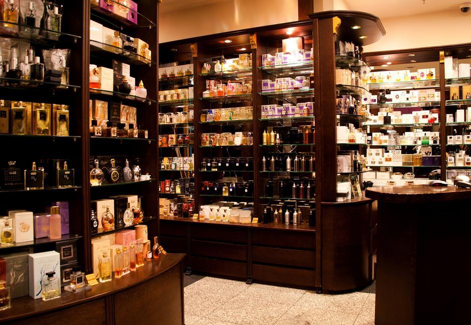 Wnętrze perfumerii Quality Missala (fot. Marek Pietroń/VUMAG)