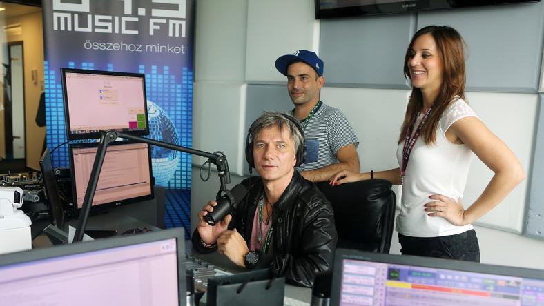 Pordán Petrát elküldték a Music FM Önindítójából, mert elfogadta a Sláger TV ajánlatát / Fotó: RAS-archívum