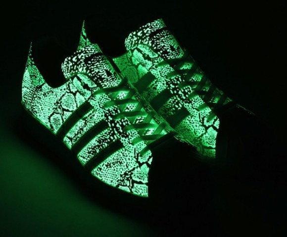 Świecące sneakersy Adidas