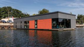 Wrocław - pierwszy w Polsce dom na wodzie