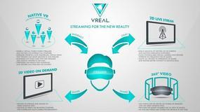 VREAL będzie transmitować granie w VR