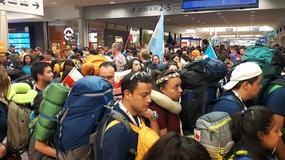 ŚDM 2016: śpiewy i radość na dworcu. Pielgrzymi dotarli do Krakowa