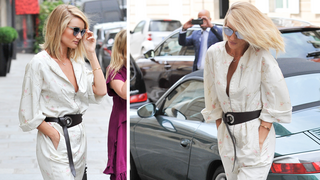 Best Look: Rosie Huntigton – Whiteley w kombinezonie Dior