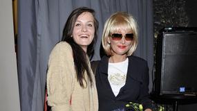 Adrianna Biedrzyńska z córką