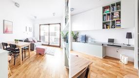 Świetnie zaprojektowane 38-metrowe mieszkanie w Krakowie - komfortowe, wygodne, eleganckie