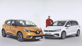 Renault Scenic kontra Volkswagen Touran - dwa pomysły na vana