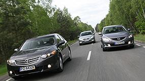 Honda Accord kontra Mazda 6 i Ford Mondeo - Nowe pokusy dla każdego szefa