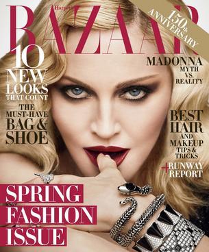 """Madonna gwiazdą najnowszego Harper's Bazaar"""""""