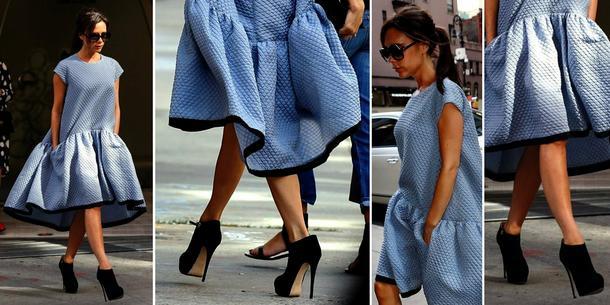 Victoria Beckham i jej namiot-sukienka!
