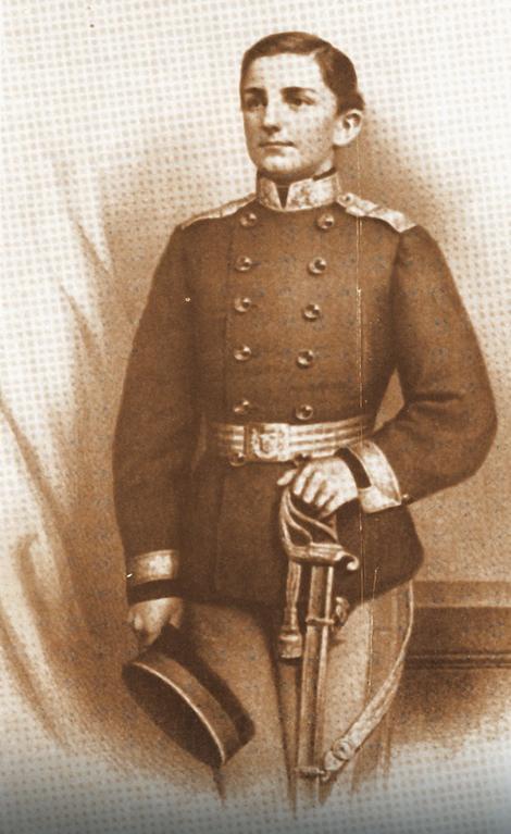 Knez Milan Obrenović u mladosti