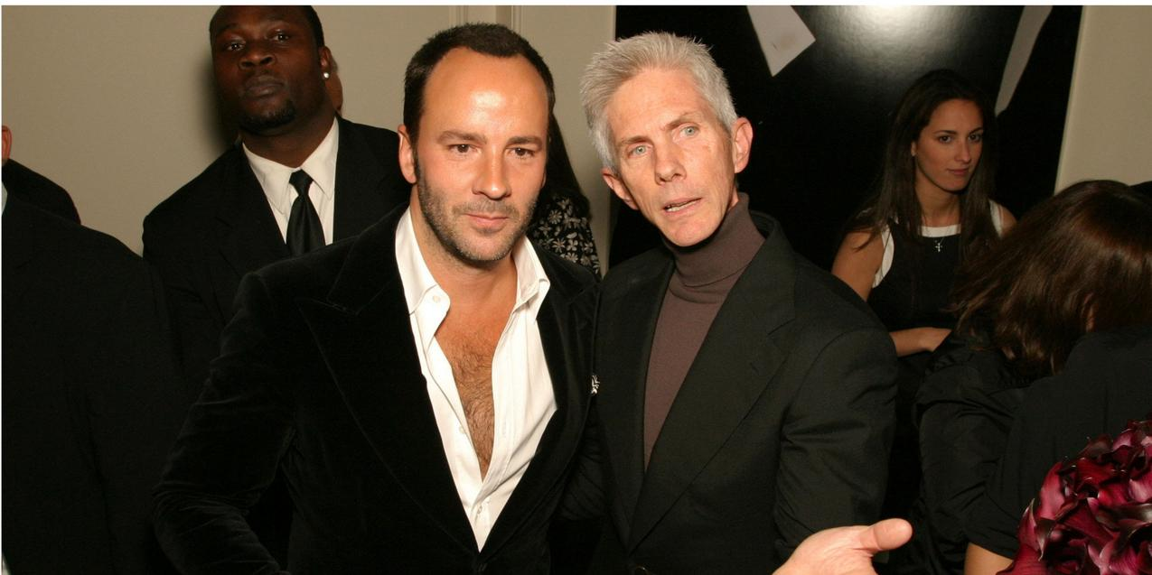Tom Ford i Richard Buckley / fot. Getty Images