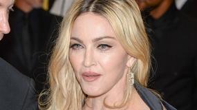 Madonna pokazała się bez makijażu i w butach od Gucciego