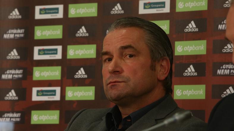 Bernd Strock nem jutott be az Újpest meccsre/Fotó: Isza Ferenc