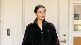 Kim Kardashian bez makijażu. Jak wam się podoba?