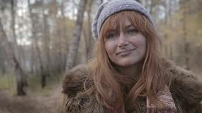 """Ania Rusowicz na planie teledysku """"Ptaki"""""""