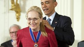 """Barack Obama uhonorował Meryl Streep. """"Kocham ją"""""""