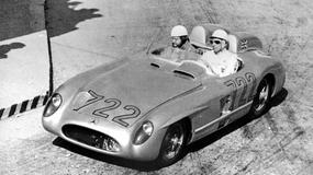 Stirling Moss i Mille Miglia 1955