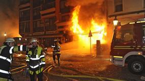 Detonacja niewypału w centrum miasta