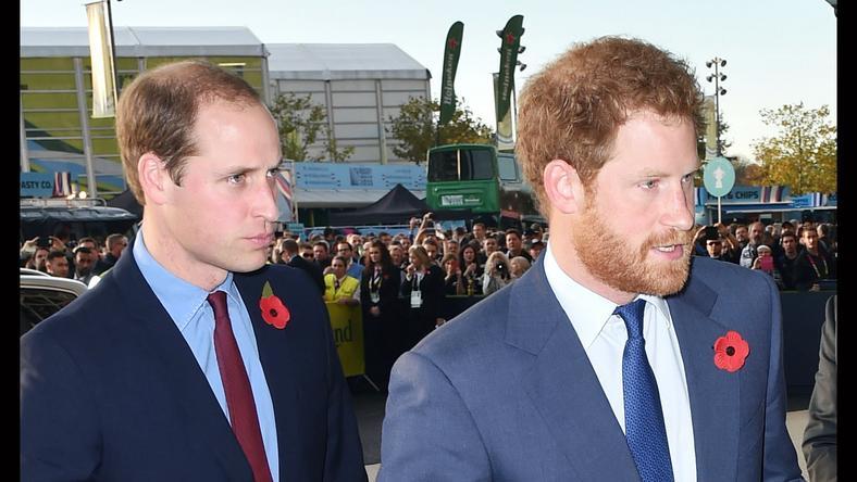 Vilmos (balra) és Harry nagyon közel állnak egymáshoz / Fotó: Northfoto