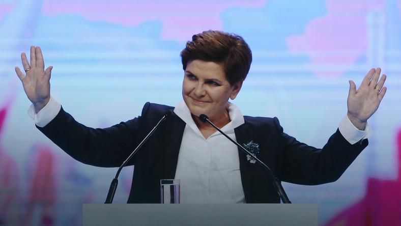 Beata Szydło na konwencji PiS
