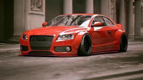 Ekstremalna wersja Audi S5 autorstwa Liberty Walk