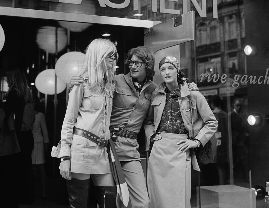 Yves Saint Laurent i butik Rive Gauche