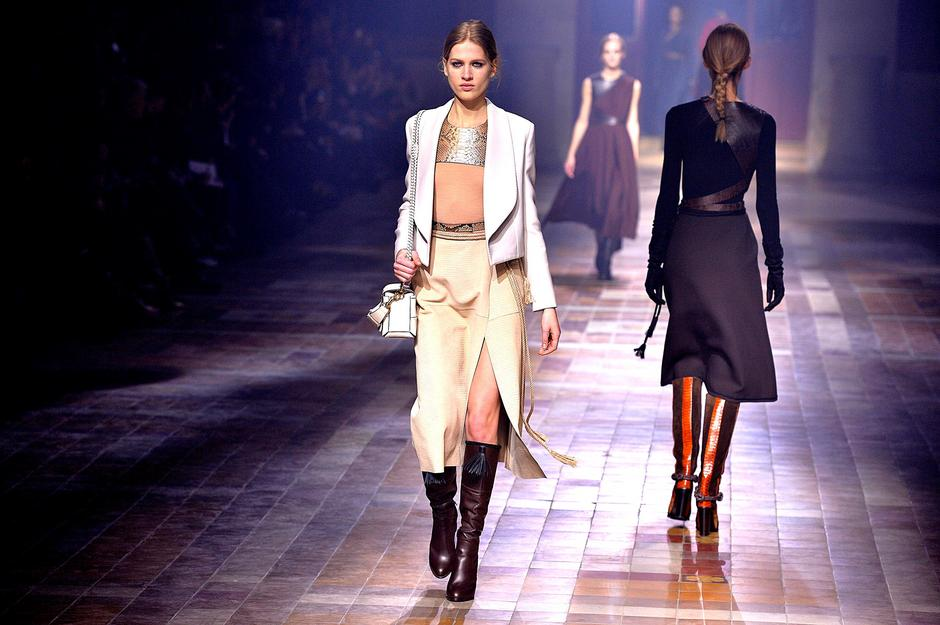 Pokaz Lanvin, Paris Fashion Week  / Getty Images