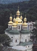 Ławra Peczerska w Kijowie, zespół klasztorny, jeden z najważniejszych centrów kultowych prawosławia.