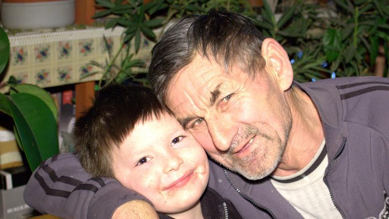 A hős nagypapa és a kisfiú / Fotó: Nagy Flóra