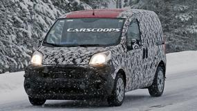Nowy Fiat Qubo złapany podczas testów