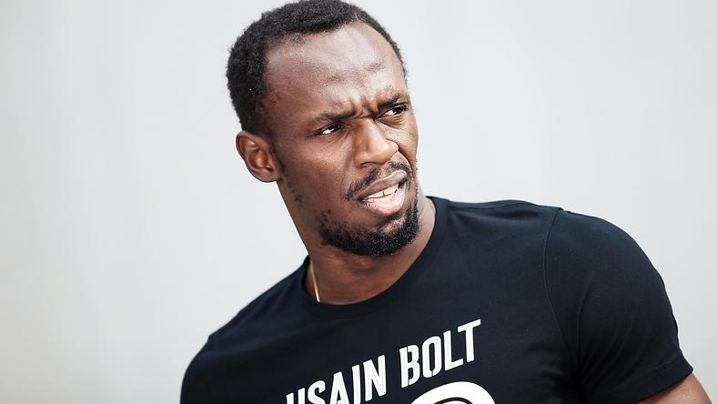 Usain Bolt mintha nem értené mit történt /Fotó: AFP